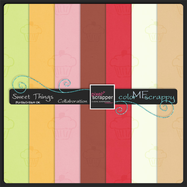 ColorMeScrappy Tone-on-Tone Papers Download